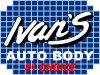 Ivan's Auto Body logo