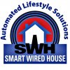 SMART WIRED HOUSE  logo