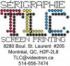 sérigraphie TLC screen printing logo