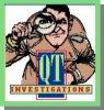 Q T INVESTIGATIONS logo