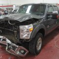 Damaged Ford