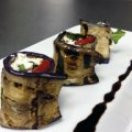 Eggplant, Feta + Sage