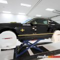 During the polishing stages, everything is wrapped and covered to prevent any damage.  2013 Shelby GT500 Super Snake 1000hp