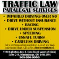 TRAFFIC LAW Paralegal Services - Image #1