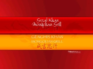 Great Khan Mongolian Grill, 7131 Kennedy Road , ON, Markham
