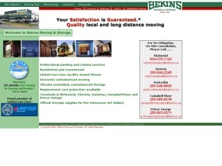 Bekins Moving and Storage (Canada) Ltd., 14251 Burrows Rd. , BC, Richmond