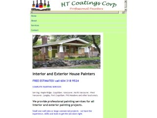 HT Coatings Corp - Professional Painters, 11985 203rd Street , 192, BC, Maple Ridge