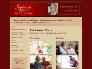 Embassy West Senior Living, 1400 Carling Avenue , ON, Ottawa