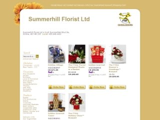 Summerhill Florist Ltd., 2145 Summerfield Blvd , #4, AB, Airdrie