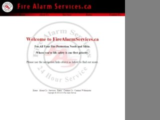 Fire Alarm Services, 116 Searle Ave , ON, North York