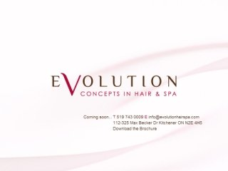 Evolution Concepts In Hair & Spa, 325 Max Becker Drive , 112, ON, Kitchener