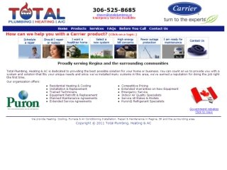 Total Plumbing Heating & Air Conditioning, 2438 9th Ave N , SK, Regina
