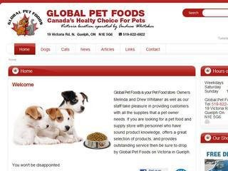 Global Pet Foods, 19 Victoria Rd N , ON, Guelph