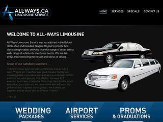 All-Ways Limousine Service , ON, Hamilton