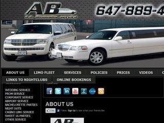 AB LIMO SERVICE, 48 Galaxy Blvd,  , Suite 404 , ON, Etobicoke