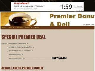 Premier Deli & Donuts, 159 Main St , ON, Toronto