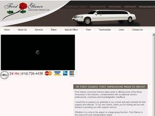 First Glance Limousine Service Ltd. , ON, Toronto
