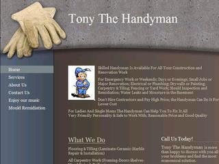 Tony The Handyman, Toronto GTA , ON, North York