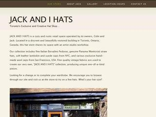 JACK AND I HATS, 953 Mount Pleasant Road , ON, Toronto