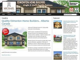 Michael Homes Inc, 9304-75 Ave. NW, , AB, Edmonton