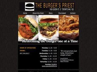 The Burgers Priest, 1636 Queen Street East , ON, Toronto