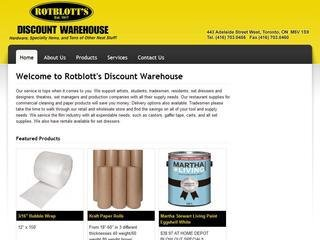 Rotblotts Discount Warehouse, 443 Adelaide St. W. , ON, Toronto