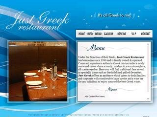 JUST GREEK, 3004 Bloor Street West , ON, Etobicoke