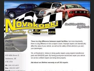 Novakoski Quality Collision Ltd, 810 48th St E , SK, Saskatoon