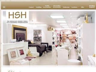 HSH Canada - Fine Linens, Silks, Bedding, Towels, Gift, Home decor accessories, 108 Yorkville Ave , ON, Toronto