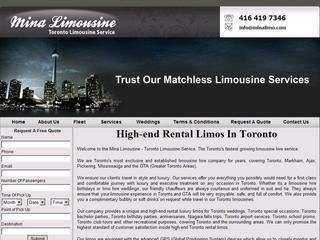 Mina Limousine Services , ON, Markham