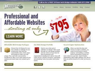 Hurricane web design ltd., 23648 111A Avenue , BC, Maple Ridge
