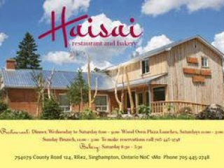 Haisai Restaurant and Bakery, 794079 County Road 124 , ON, Singhampton