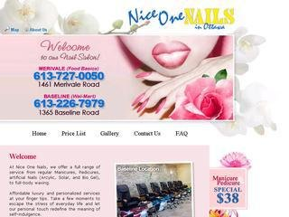 Nice One Nails (Baseline - Walmart), 1365 Baseline Road , Unit 4, ON, Ottawa