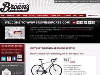 Browns Sports &amp; Cycle Co. Ltd., 2447 Bloor Street West , ON, Toronto