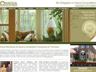 Omega Windows &amp; Doors, 1881 Steeles Avenue West , Unit 376, ON, North York