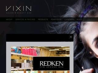 Vixin Salon &amp; Beauty Bar, 123 Princess St. , MB, Winnipeg