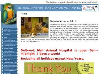 Delbrook Mall Animal Hospital, 3757 Delbrook Avenue , BC, North Vancouver