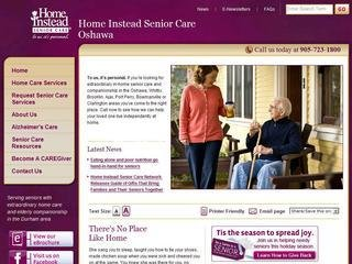 Home instead senior care oshawa, on, 595 Wentworth St East , ON, Oshawa