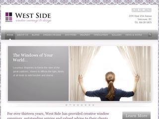 West Side Window Coverings & Design, 2370 West 41st Avenue , BC, Vancouver