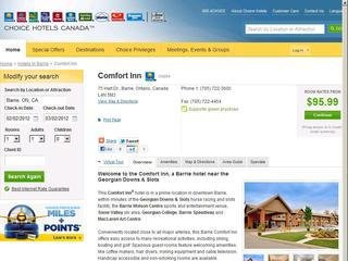 Comfort Inn - Hart Drive, Barrie, ON, 75 Hart Dr , ON, Barrie