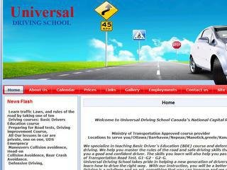 Universal Driving School, 2900 , 1, ON, Nepean