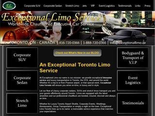 Exceptional Limousines, 60 Emerson Ave , ON, Toronto