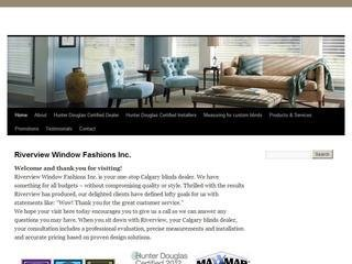 Riverview Window Fashions Inc., Calgary, South West , AB, Calgary