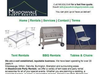 Meadowvale Party Rentals, 2283 Argentia Road , Unit 7, ON, Mississauga