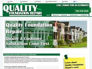 Quality Foundation Repair Ltd., 1044 117A St. SW , AB, Edmonton