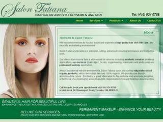 Salon Tatiana, 162 Davenport , ON, Toronto