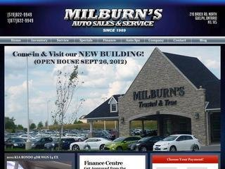Milburn Auto Sales, 219 Brock Rd N , ON, Guelph