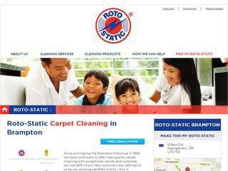 Roto-Static Carpet Cleaning Brampton , ON, Brampton