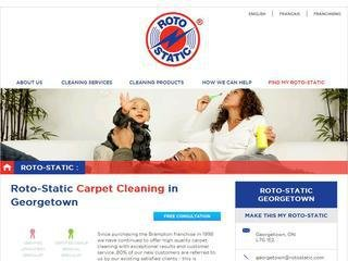 Roto-Static Carpet Cleaning Georgetown , ON, Georgetown