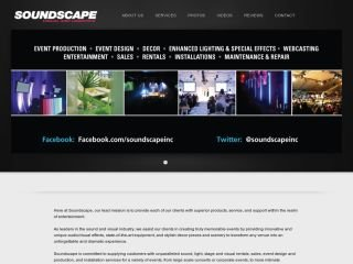 Soundscape Visual & Logistics, 177 Whitmore Rd,  , Unit #19, ON, Woodbridge